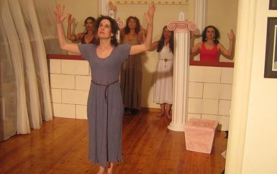 """Ιούνιος 2009.  """"Λυσιστράτη"""" στη θεατρική σκηνή  του anima vita"""